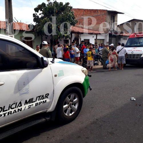 Idosa é atropelada por motocicleta e fica em estado grave no Piauí
