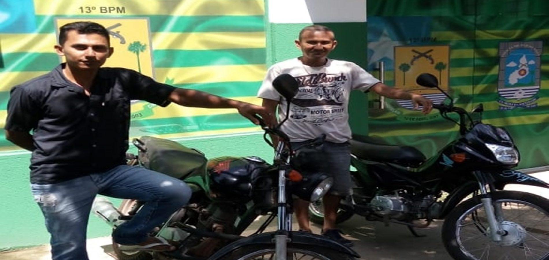 PM recupera duas motos após perseguição no Piauí