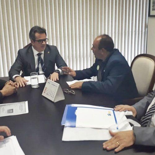 Em Brasília, prefeito de Jaicós participa de evento municipalista e busca mais recursos para o município