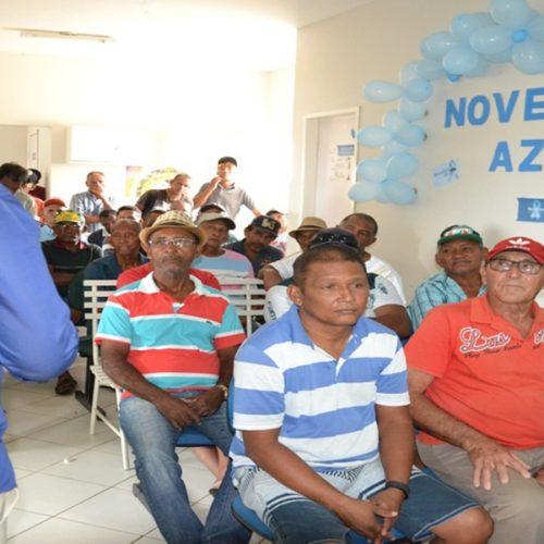 Saúde de Massapê orienta homens para prevenção ao câncer de próstata em alusão ao Novembro Azul