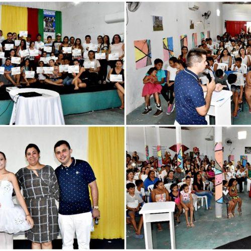 3ª Conferência Municipal de Cultura é realizada em Alegrete do Piauí; veja fotos