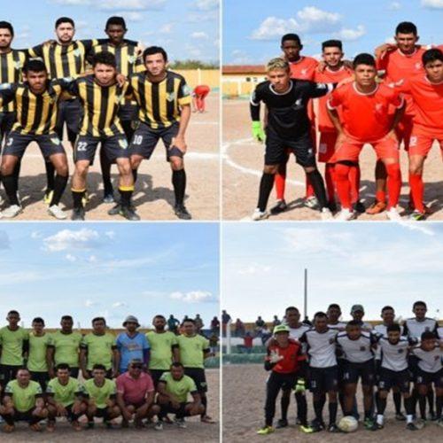 Dois jogos movimentam rodada do Campeonato Municipal de Belém do Piauí