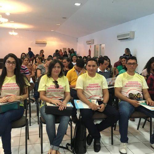 Representantes de Padre Marcos participam do 3º Ciclo de Capacitação do Selo UNICEF