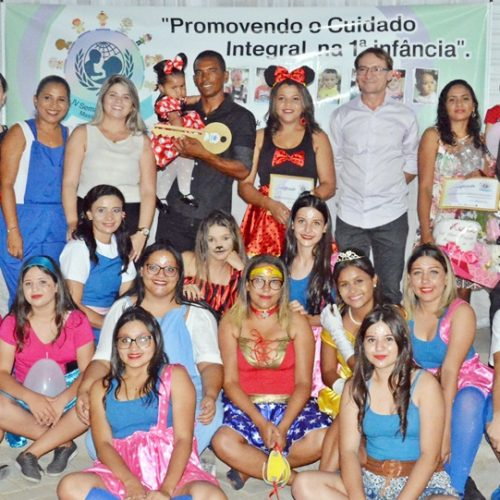 FOTOS   Encerramento da IV Semana do Bebê em Massapê do Piauí
