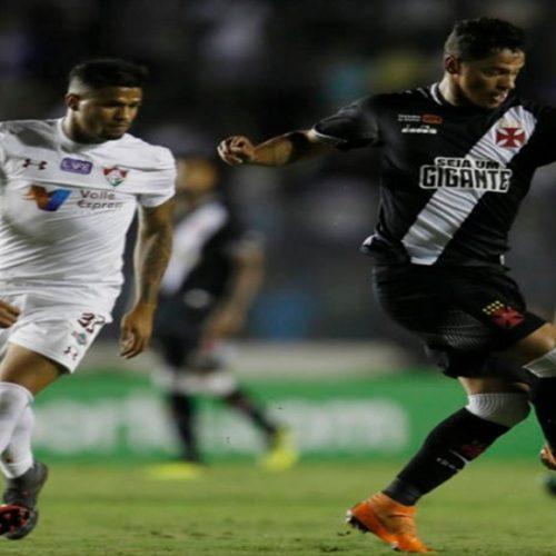Vasco e Fluminense tentando escapar do rebaixamento no Brasileiro