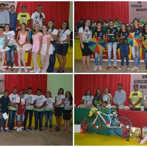 Ginásio Municipal de Vera Mendes promove III Sarau Literário