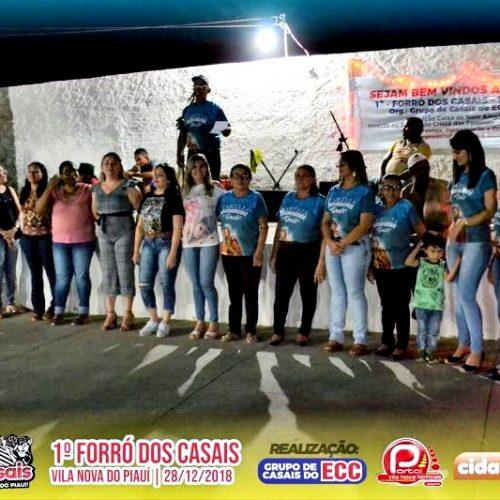 ECC Paroquial promove 1º Forró dos Casais de Vila Nova do Piauí ; Fotos !