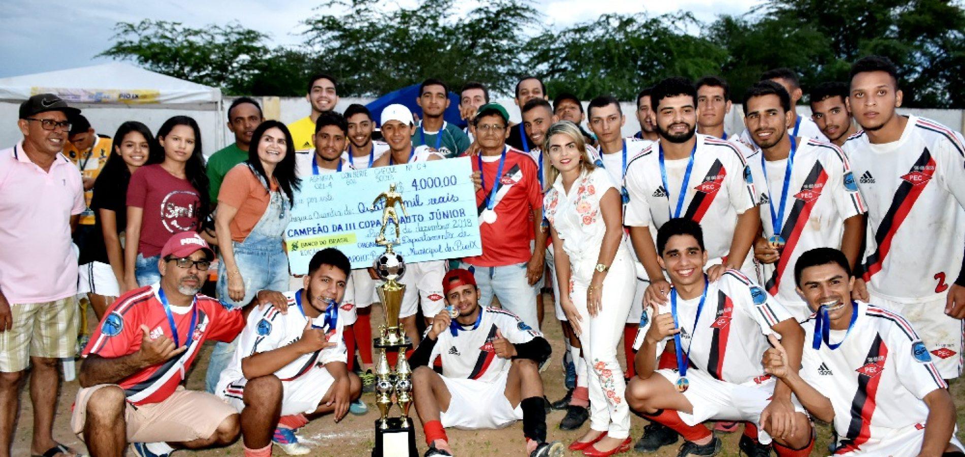 PEC vence Jatobá e conquista título de campeão da III Copa Adauto Júnior em Pio IX; fotos