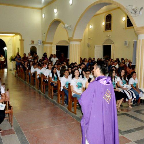 Educação realiza Missa e Colação de Grau dos alunos do 9º ano das escolas municipais de Fronteiras