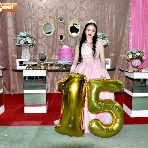 GENTE EM EVIDÊNCIA | Hellayne Camille celebra 15 anos ao lado de familiares e amigos em Alegrete do PI