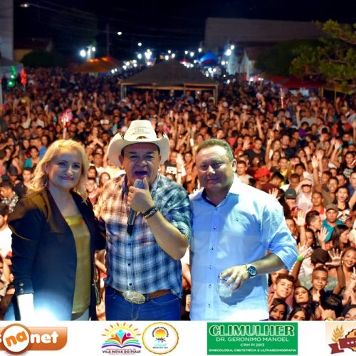 Shows atraem multidão e encerram festividades do 23º aniversário de Vila Nova do Piauí; veja fotos