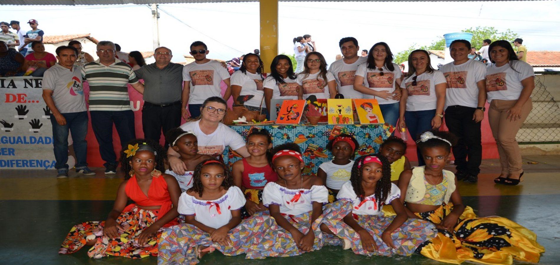 FOTOS | Culminância do projeto Cultura Afro-brasileira  nas escolas em Padre Marcos