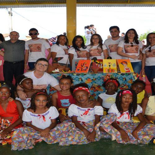 FOTOS   Culminância do projeto Cultura Afro-brasileira  nas escolas em Padre Marcos