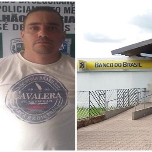 Suspeito de assalto a banco é preso em agência do BB em cidade do Piauí