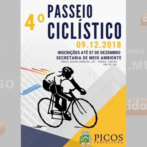 Inscrições do 4º passeio ciclístico de Picos ainda estão abertas