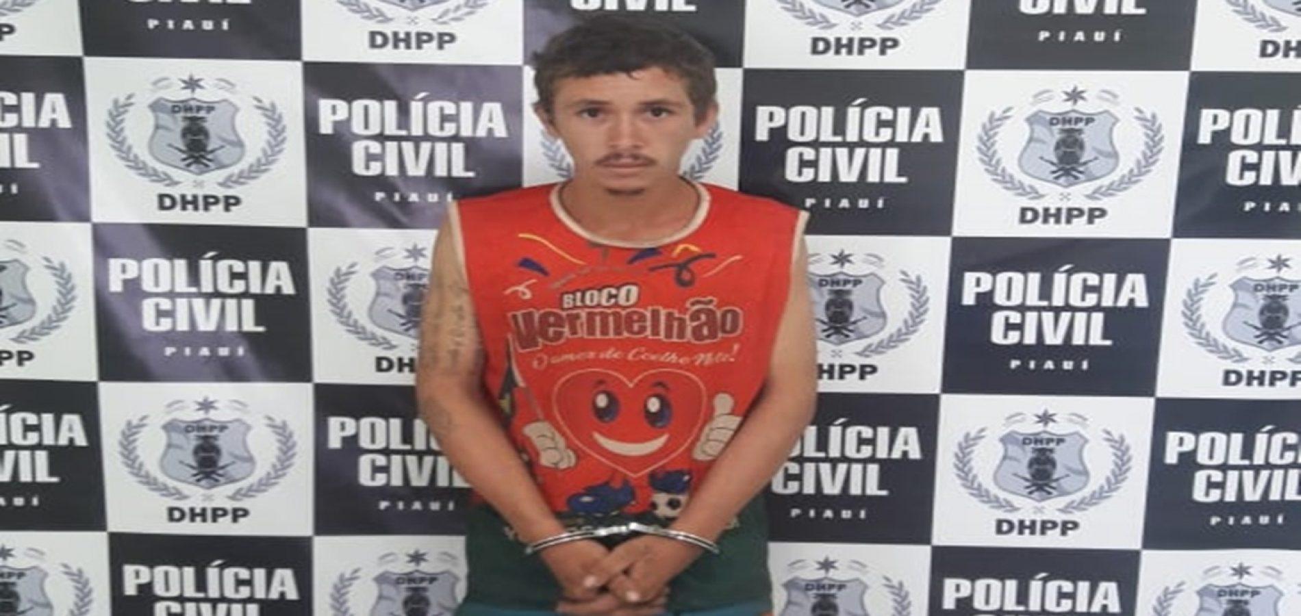 Homem é preso acusado de participação em latrocínio no Piauí