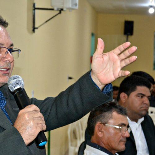 Bernardino Carvalho é eleito pela 4ª vez como presidente da Câmara de Belém do Piauí