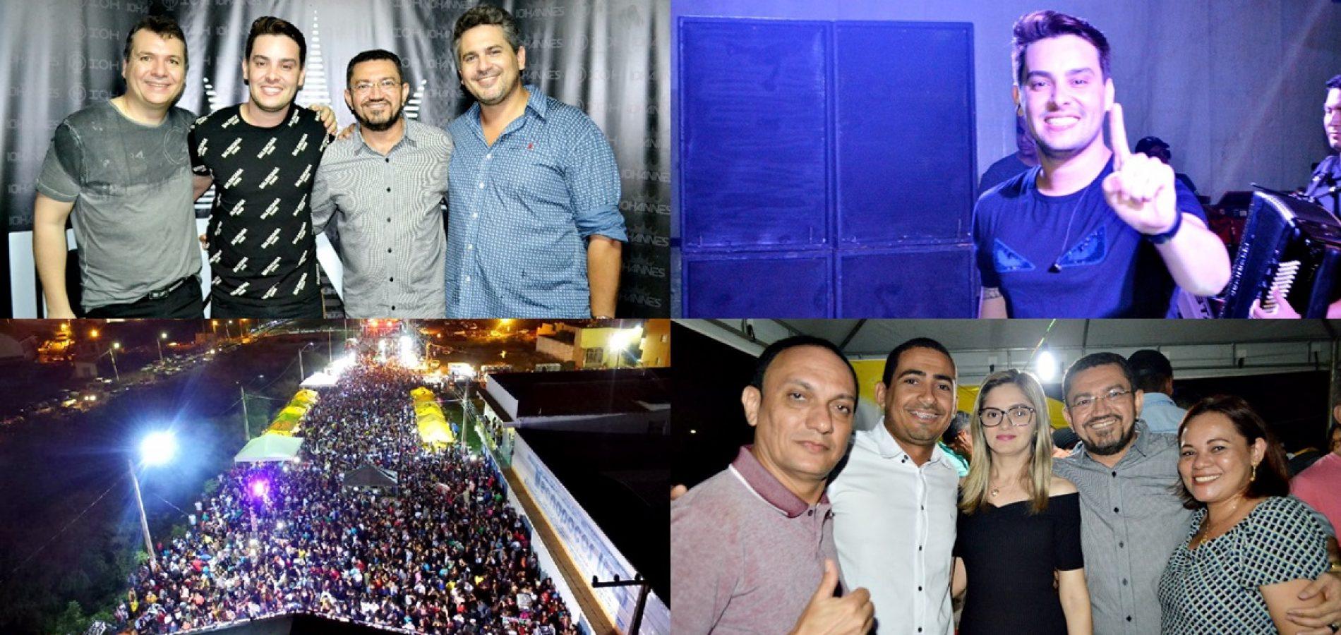 Shows com Eric Land, Iohannes e Dallyson Monteiro atraem multidão ao aniversário de 128 anos de Picos; fotos