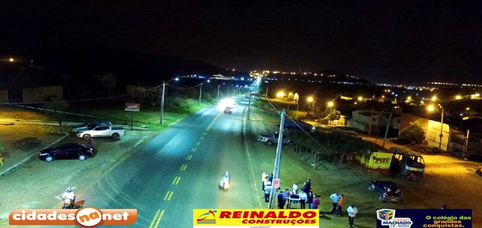 PICOS 128 ANOS | Prefeitura inaugura rede de iluminação pública no bairro Belo Norte