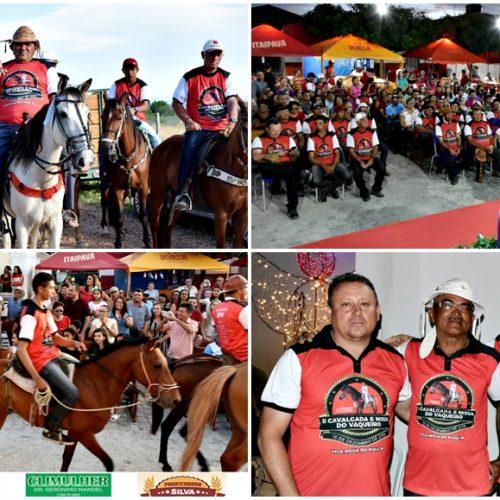 VILA NOVA 23 ANOS   2ª Cavalgada e Missa do Vaqueiro marcam o 4º dia de eventos; veja fotos