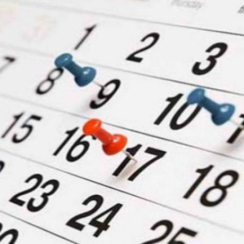 Veja calendário de feriados nacionais e pontos facultativos de 2019