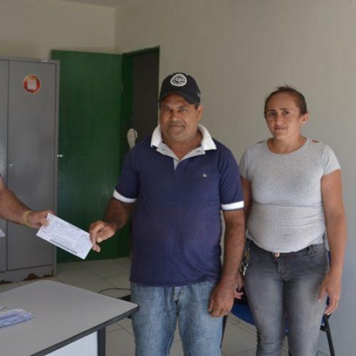 Prefeitura de Belém do Piauí faz entrega de boletos do Garantia Safra