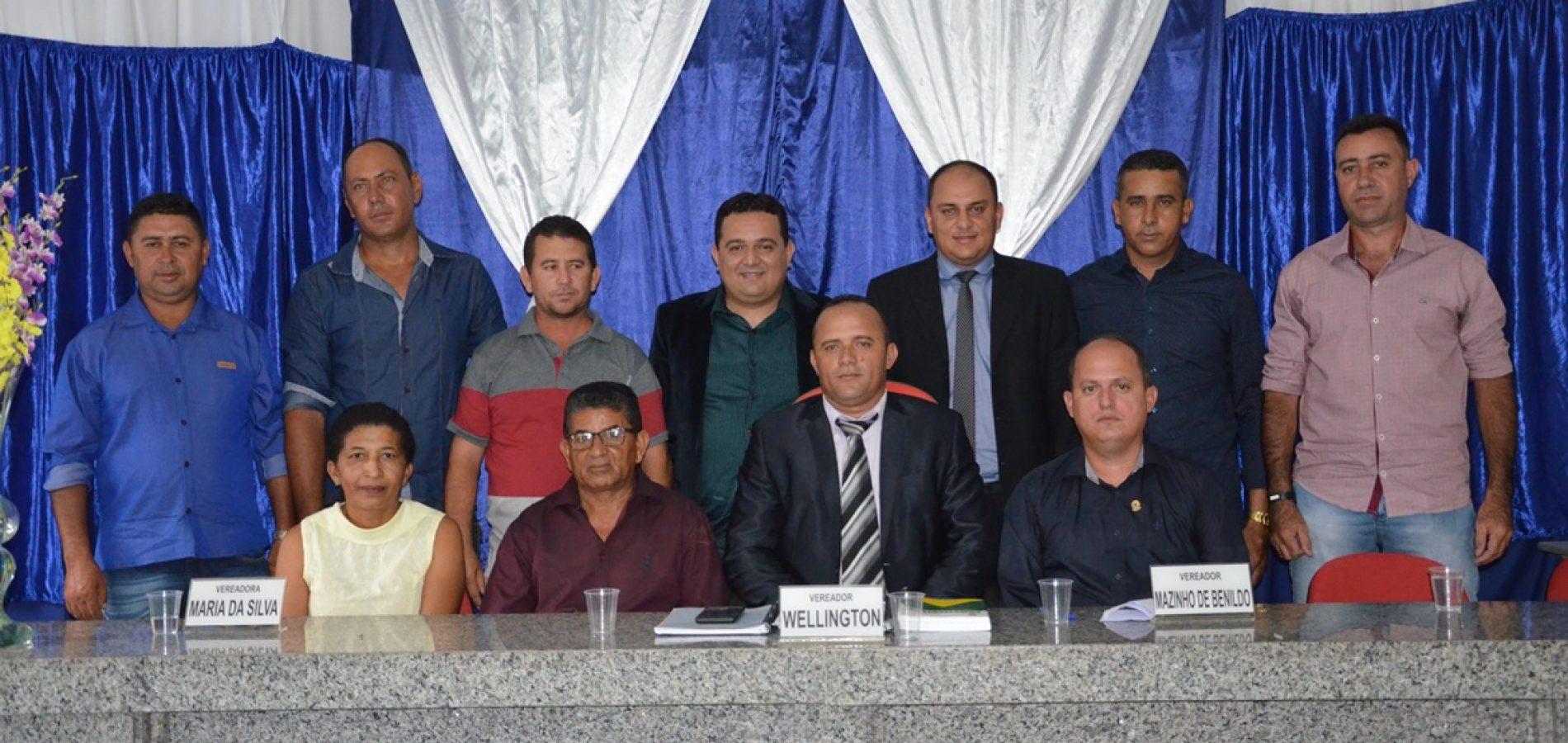 Vereador Mazin de Benildo é eleito presidente da Câmara de Caridade do Piauí