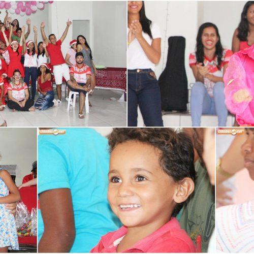 Pastoral da Juventude promove 6º Natal Solidário e beneficia crianças carentes em Jaicós