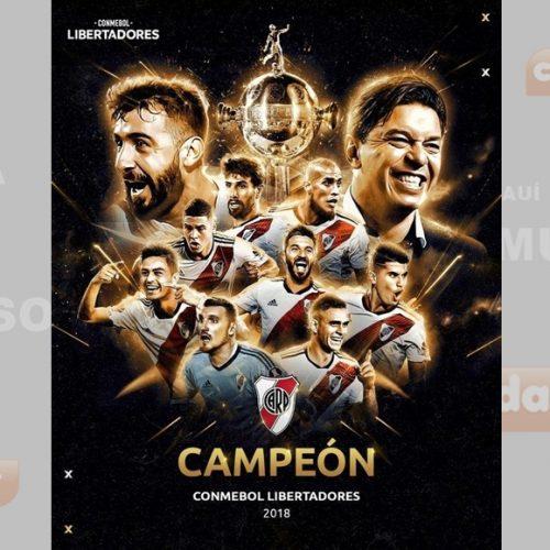 River vence o Boca na prorrogação e leva o tetra da Libertadores