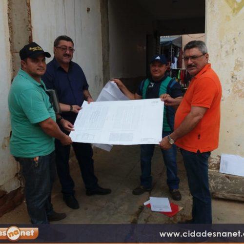 Prefeitura de Simões inicia reforma do Mercado Público