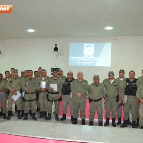 Policiais Militares de Simões, Caridade e Curral Novo são capacitados para lavrar Termo Circunstanciado de Ocorrência