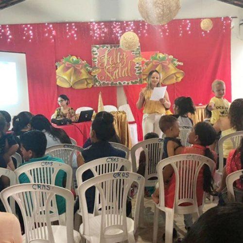 Social de Curral Novo do Piauí realiza confraternização com beneficiários do Criança Feliz