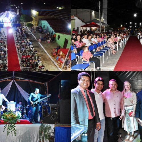 Comemoração do 'Dia do Evangélico' abre a programação do aniversário de 23 anos de Vila Nova do PI; fotos