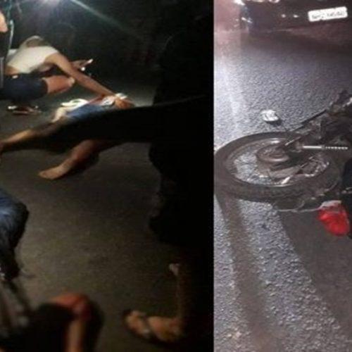 Grave acidente entre motos deixa três feridos na PI-327