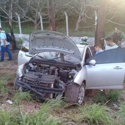 Sargento da PM fica ferido em acidente na rodovia PI-130