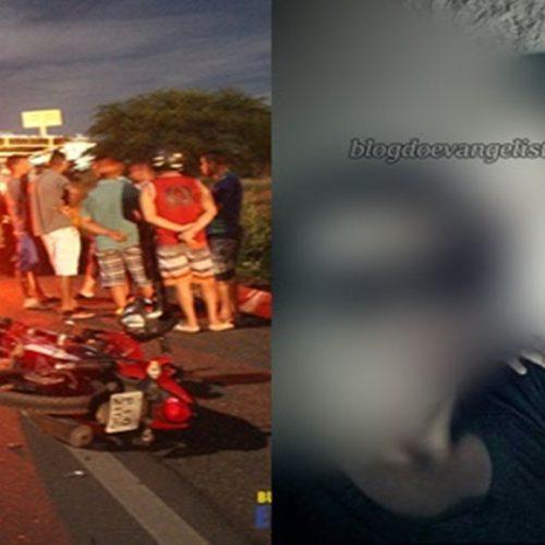 PAULISTANA | Colisão entre caminhão e moto deixa homem morto