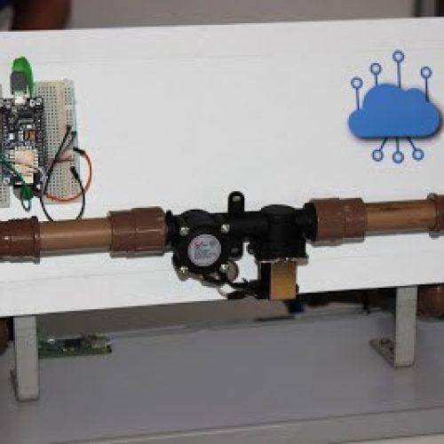Alunos do SENAI do Piauí criam sistema para controlar o uso da água