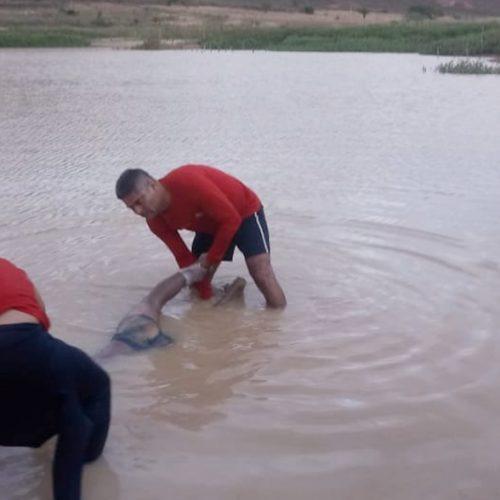 Bombeiros localizam corpo mais de 24h depois de afogamento em Caldeirão Grande