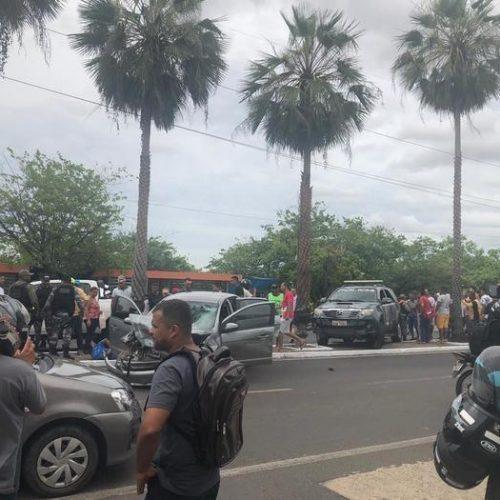Assaltantes enfrentam policiais durante perseguição no Piauí