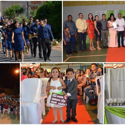 Dia do Evangélico e Casamento Comunitário abrem comemorações do 23° aniversário deVera Mendes