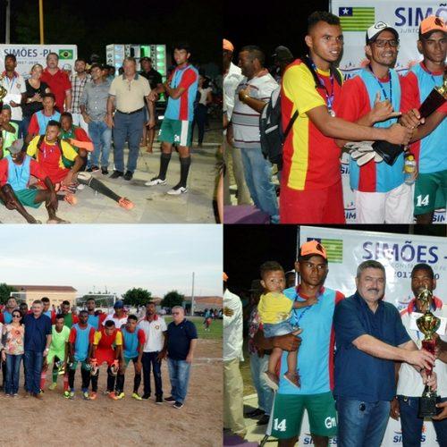SIMÕES | Campeonato incentiva o futebol amador e movimenta o povoado Maria Preta