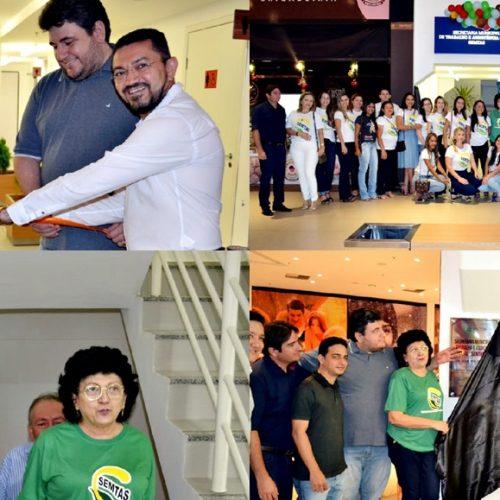 PICOS 128 ANOS | Prefeito Pe. Walmir inaugura sede da Semtas no Piauí Shopping Center