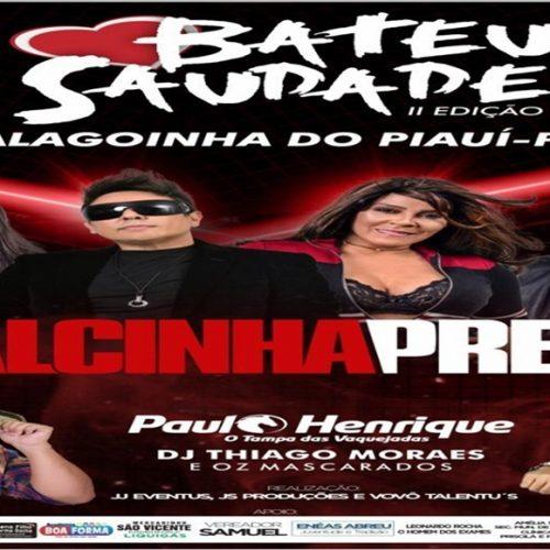 É hoje ! Calcinha Preta se apresenta na casa de shows Asa Branca em Alagoinha do Piauí
