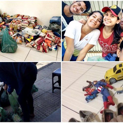 Em Alegrete, Grupo de amigos realiza campanha Natal Solidário e arrecada alimentos, roupas e brinquedos