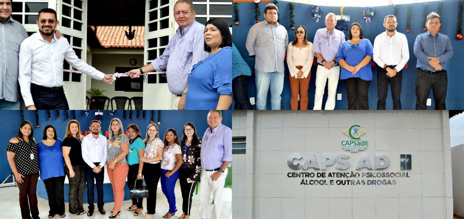 PICOS 128 ANOS | Secretaria de Saúde inaugura nova sede do CAPS AD