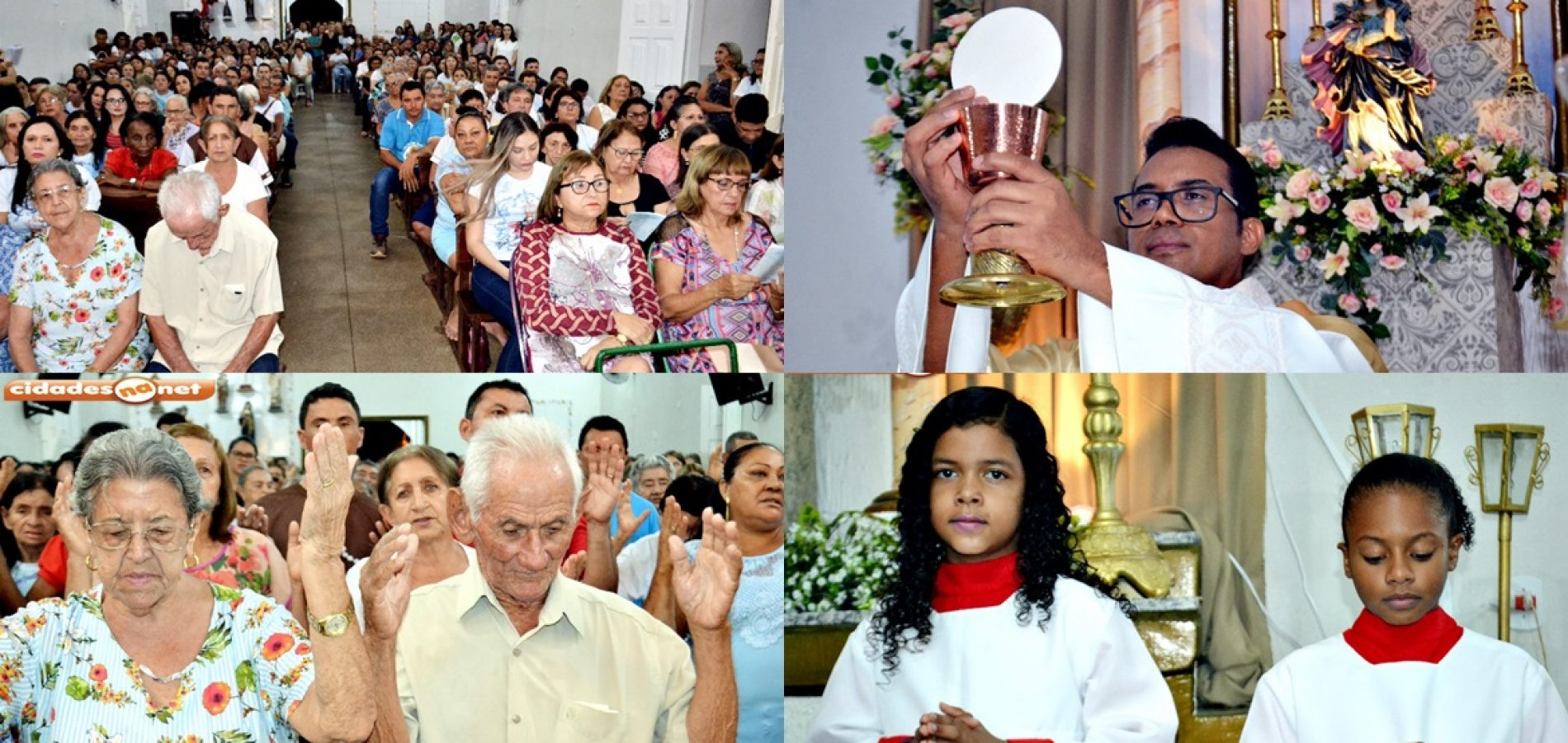 BOCAINA | Fiéis celebram 4ª noite de novena e missa do 264º Festejo de Nossa Senhora da Conceição; veja fotos