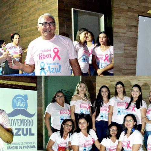 GEMINIANO | Saúde promove palestra de prevenção ao câncer de próstata; evento reuniu mais de 600 homens. Fotos !
