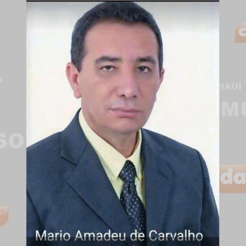 Prefeito de Marcolândia decreta luto de três dias pelo falecimento do ex-prefeito Amaro Amadeu de Carvalho