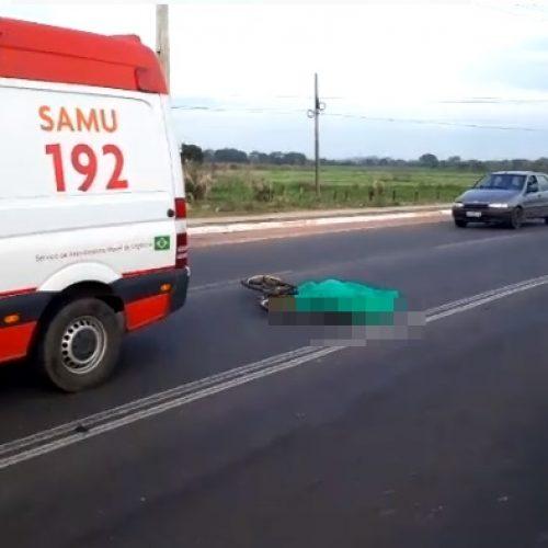 Ciclista morre após ser atropelado por veículo no Piauí