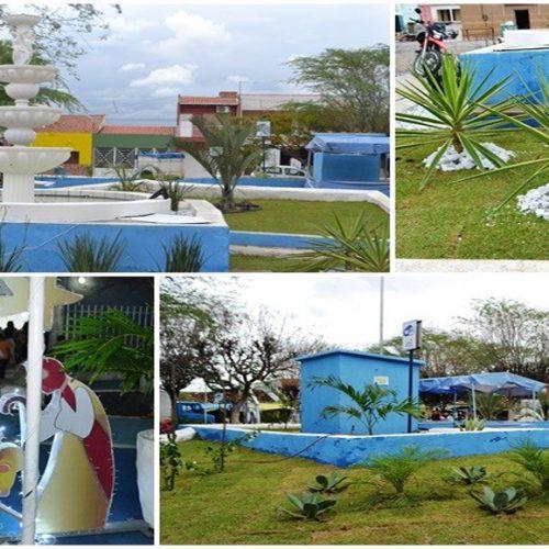 Em São Julião, Prefeitura investe na recuperação de jardins e praças e prepara cidade para as festas de fim de ano; veja fotos!